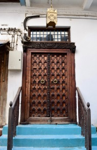 Famous carved Zanzibari doors.